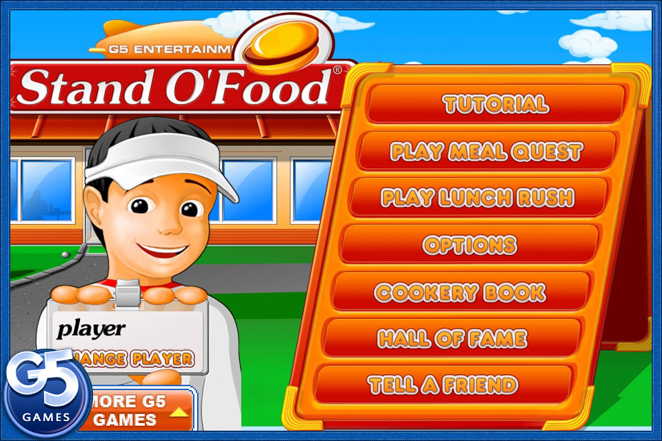 Screenshot Stand O' Food