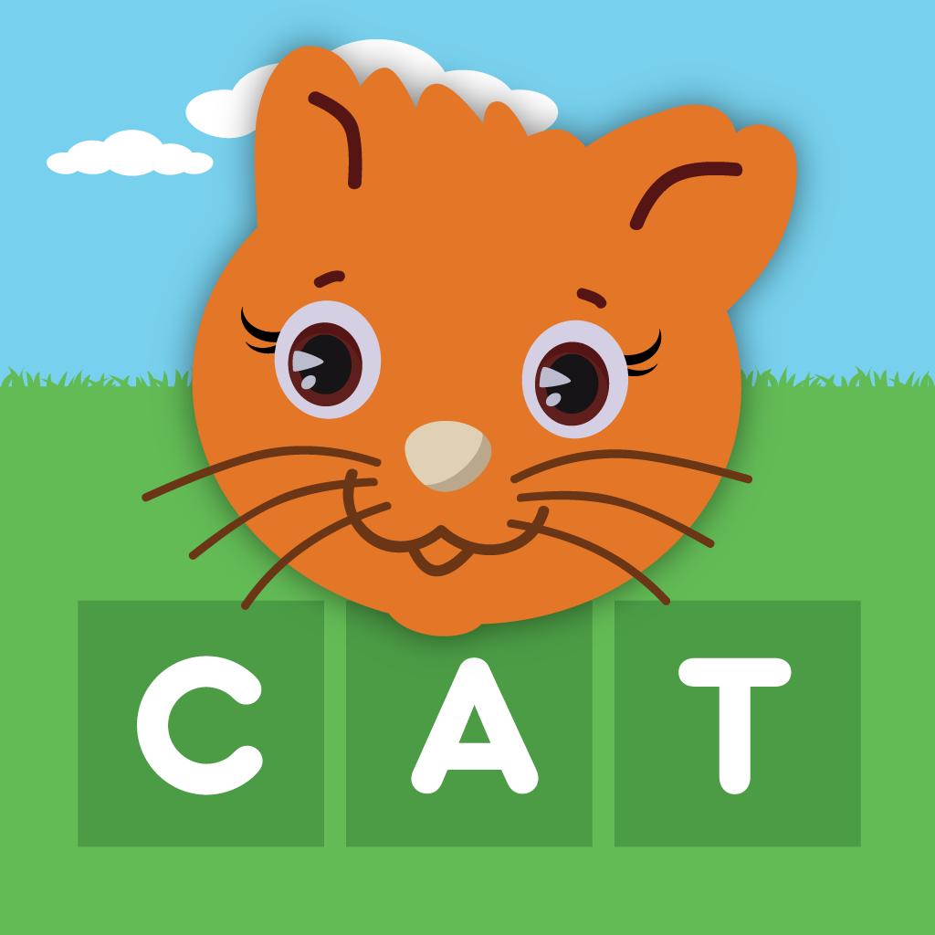 First Words Animals - 単語スペル、英語版、日本語版、フランス語版、ドイツ語版、スペイン語版、開発元 Learning Touch